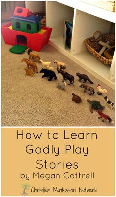 How to learn Godly Play stories by Megan on ChristianMontessoriNetwork.com