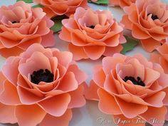 DIY Tutorial Inspirations / Handmade Paper Flowers Elizabeth Rose by morepaperthanshoes - Bead&Cord