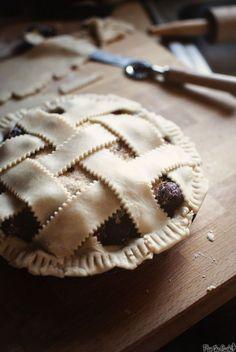 Homemade Tart Cranberry-Cherry Pie