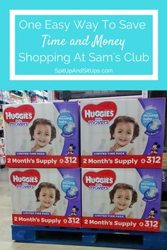 #SPONSORED #BIGGESTPACKEVER How to save on diapers with Sam's Club, Biggest pack ever, huggies little movers, sam's club, saving at sam's club, diapers at sam's club, how to save on diapers, deals on diapers