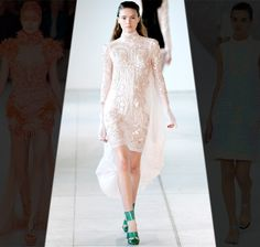 Antonio Berardi Spring 2012 - Create an event of your own to attend, so you can wear a frock like this....