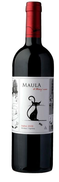 Maula & Misery Mouse Malbec PD #taninotanino #vinosmaximum