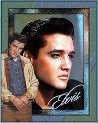 Elvis Presley by LITTLEUSROSE, via Flickr