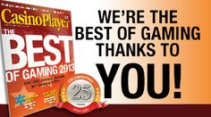 "Share this with your friends and earn B Connected Social Points to enter valuable prize giveaways. We're the Best of Gaming. Thanks to You!    We're thrilled to announce that The Orleans Hotel & Casino captured an award in the Casino Player's Magazine 2013 ""Best of Gaming"" competition in the Las Vegas region! Results of this prestigious competition, were revealed on Friday, August 9.    3rd Place - Casino Where You Feel Luckiest    We couldn't have done this without the support of our…"