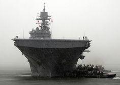 USS Bataan returns to Naval Station Norfolk.