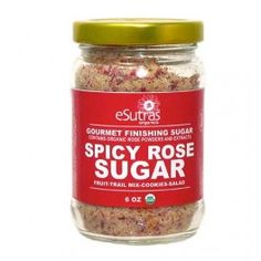 eSutras Organics (U.S.A.) - Organic Gourmet Finishing Sugars in Spicy Rose and Lavender flavors