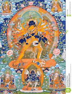 Image from http://thumbs.dreamstime.com/z/religion-painting-tibet-china-culture-traditional-artwork-as-named-tangka-buddha-symbol-35157093.jpg.
