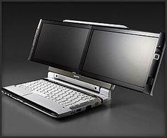 Onkyo Dual Screen DX Laptop
