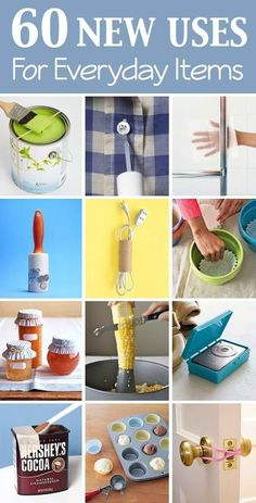 60 DIY New Uses For Everyday Items