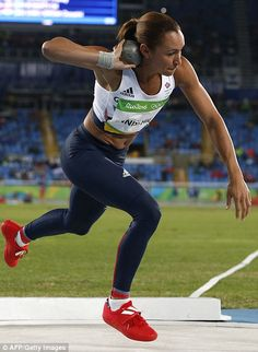 Strong-Willed Jessica Ennis Hill Unsigned Photo Rio Olympics 2016 no 6 Reputation First