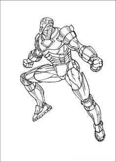 24 Best Iron Man images | Coloring pages for kids ...
