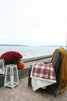 Fall Home Tour -what a view!