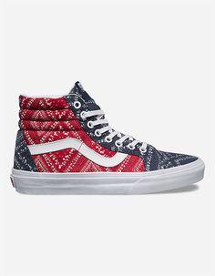 VANS Ditsy Bandana Sk8-Hi Reissue Womens Shoes