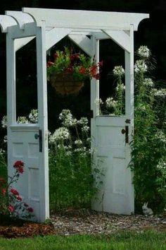 Repurpose exterior wood doors