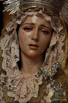 María Santísima de la Paz, Tarancón (Cuenca). Obra de Francisco Romero Zafra, 2013.