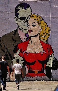 Street Art by D*Face