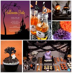 Spooky Soiree Inspiration Board | Tinyprints Blog