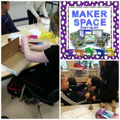"""""""This resource is simply genius. It is everything you need to set up and successfully run a Maker Space in your classroom. I love the task cards and use them for fast finishers. When we completed the Treehouse task, my students and parents were awed at the process. If you have been excited by the idea of a Maker Space, but been spinning your wheels, trying to figure out how to successfully roll it out, this is *definitely* the answer for you."""" - a satisfied teacher who is using this…"""