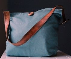 Saltwater Kids: winthrop bag: an inspired refashion