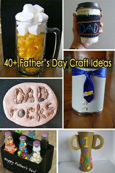 40+ Father's Day Craft Ideas. Central Arkansas Pediatric Dentistry | #Sherwood | #AR | www.capddentist.com
