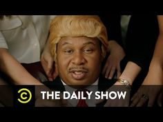 Watch Rapper Black Trump Music Video From 'The Daily Show' — 'They Love Me' [Donald Trump Spoof]