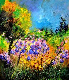 "Saatchi Online Artist: Pol Ledent; Oil, 2011, Painting ""maisonette 67"""