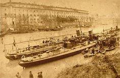 Cacciatorpediniere della Regia Marina a Ripa Grande Anno: Inizio '900
