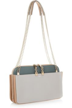 Chloé | Lucy leather shoulder bag | NET-A-PORTER.COM