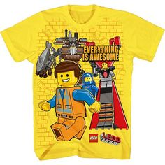 "The LEGO Movie ""Everything is Awesome"" Tee - Boys 8-20"