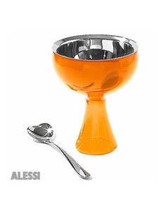 Alessi Big Love Ice Cream  Cup and Spoon