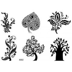 SPESTYLE waterproof non toxic fashionable and beautiful tattoos stickers different kind of trees design temporary tattoos stickers by SPESTYLE -- You can get more details by clicking on the image. (This is an affiliate link) #Makeup