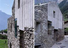 Integración entre rocas, Roduit House | Arquitectura
