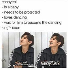 EXO Chanyeol ☺️