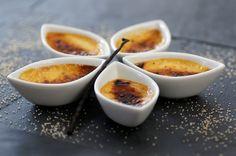 Crème brûlée au cantal jeune - Ligne en Ligne