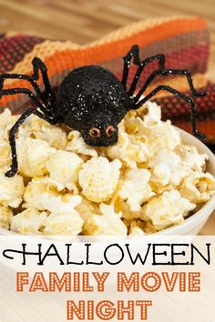 Netflix Halloween Family Movie Night - Great list for the weekend!