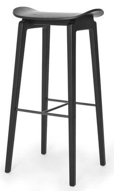 Norr11 NY11 Bar Chair | mintroom.de #Norr11 #mintroom #shop #stühle #holz #barhocker #norr11 #knut bendik humlevik & rune krøjgaard #alle