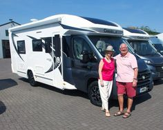 Marion & Steve are pictured taking delivery of their brand new Chausson 711 Travel Line, a new Chausson Model for this year that has already become one of the most popular models in the Chausson range for Motorhome, Recreational Vehicles, Delivery, Range, Models, Popular, Travel, Role Models, Rv