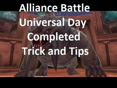 Marvel Future Fight Alliance Battle Universal Day Completed with Loki Ronan Thor