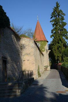 Dinkelsbühl - Germany - Oberer Mauerweg - Haymersturm