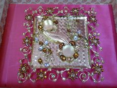 Rose n Wrap: Crystal Engagement Ring Platter