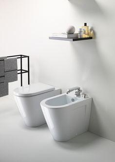 GSI ceramic | PURA Washbasin 100x50 - Wc & Bidet 55x36 #GSIceramica ...