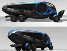 IVECO OEX- futuristic concept car. Inspiration for the off-road vehicles Safe Land Enforcers use for area patrols.