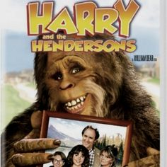 Directed by William Dear. With John Lithgow, Melinda Dillon, Margaret Langrick, Joshua Rudoy. The Henderson family adopt a friendly Sasquatch but have a hard time trying to keep the legend of 'Bigfoot' a secret. Family Movie Night, Family Movies, Funny Family, Family Family, Family Camping, Family Holiday, Camping Gear, 80s Movies, Great Movies