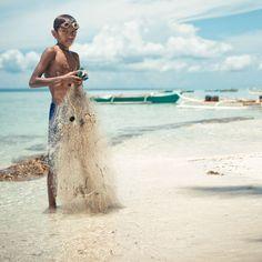 young fisherman // bantayan island