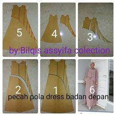 66 new Ideas sewing patterns fashion shape Kebaya Peplum, Clothing Patterns, Sewing Patterns, Abaya Pattern, Sewing Blouses, Modelista, Dress Making Patterns, Sewing Lessons, Pattern Drafting