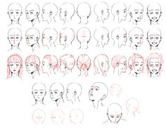Resources: Head 1 by deeJuusan.deviantart.com on @deviantART - head postition reference