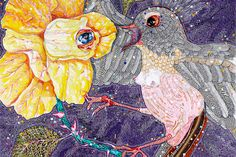 Heide Museum of Modern Art - Del Kathryn Barton: The Nightingale and the Rose 10 November - 09 December 2012 Australian Painting, Australian Artists, Del Kathryn Barton, Visual Art Lessons, Visual Arts, Collage Drawing, Illusion Art, Amazing Drawings, Museum Of Modern Art