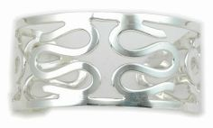 Curls Cuff Bracelet 925 Sterling Silver Sterling Silver. $114.00
