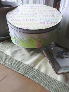 Transform a cookie tin