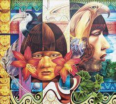 Celebration Dance, Aztec Warrior, Western Caribbean, Mesoamerican, Chicano Art, Inca, Native Art, Graffiti Art, Urban Art